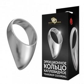 Большое каплевидное эрекционное кольцо TEARDROP COCKRING